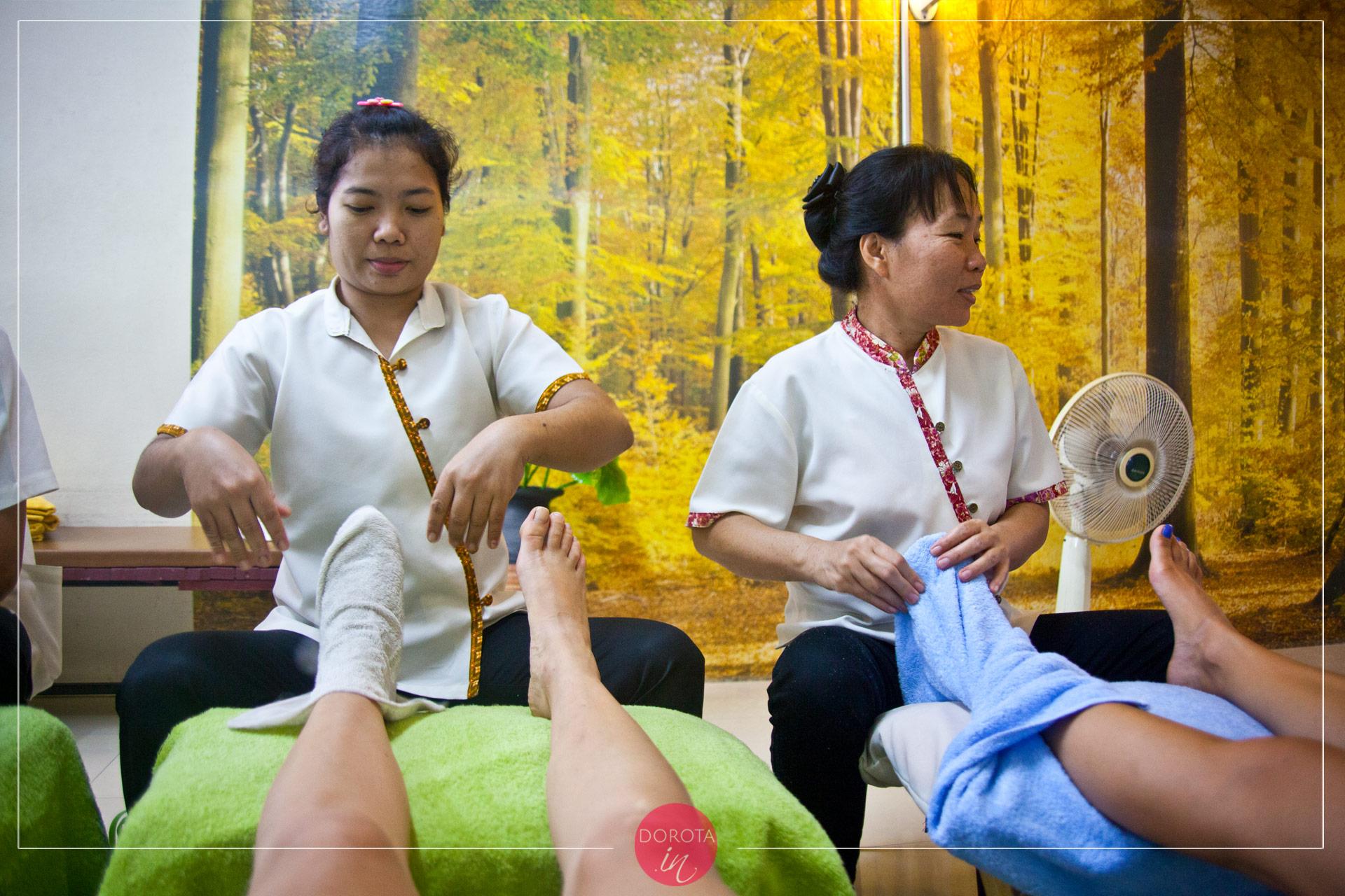 Tajski masaż stóp