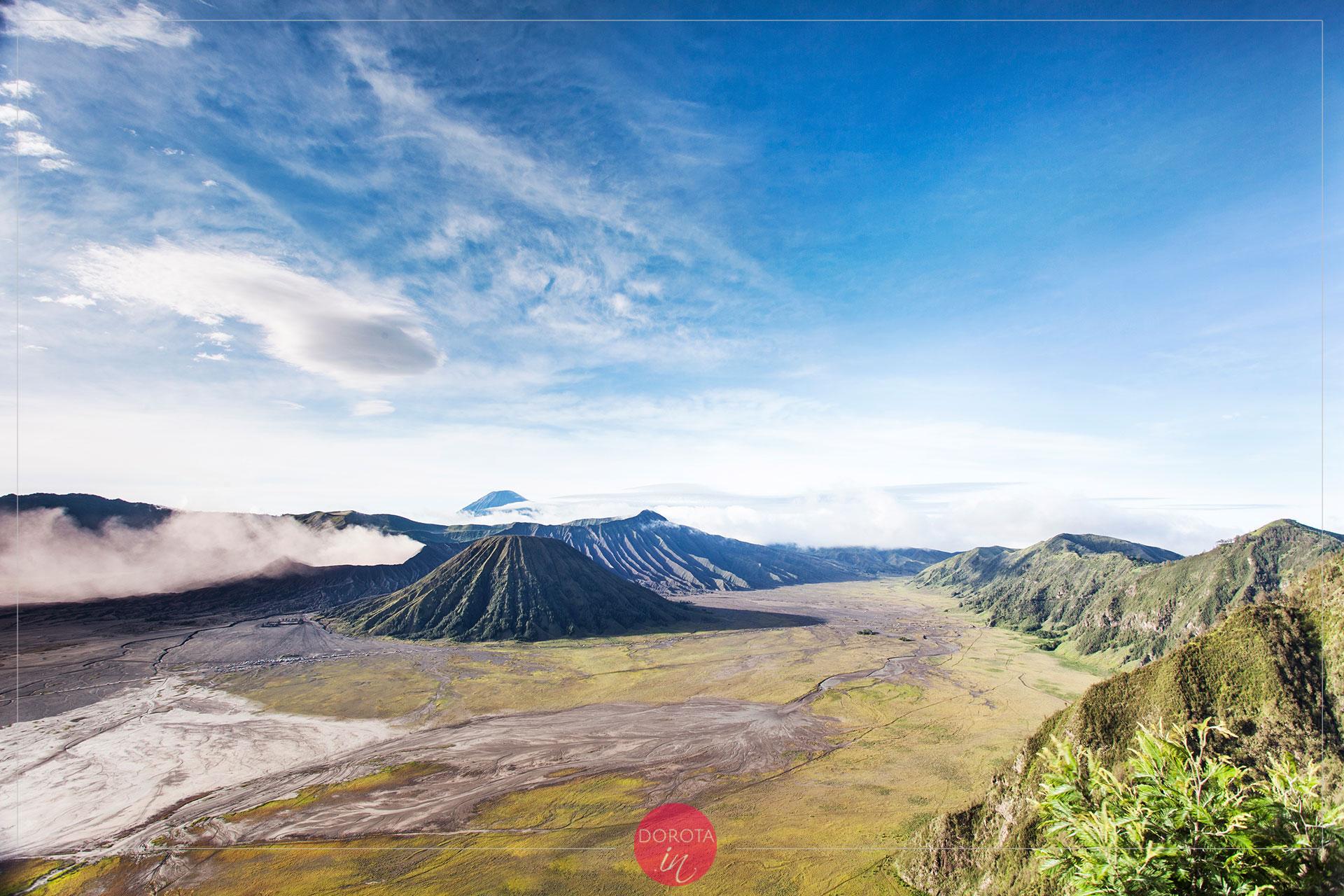 Wulkan Bromo w całej krasie