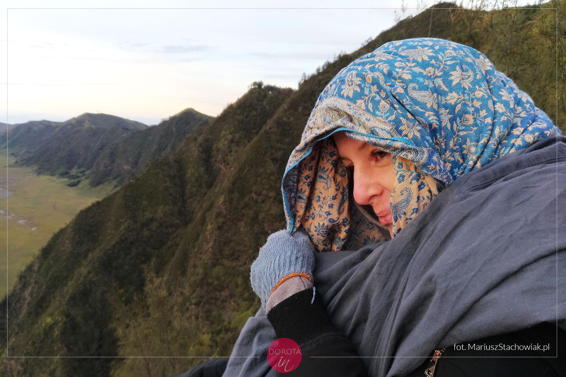 Zimno na Bromo