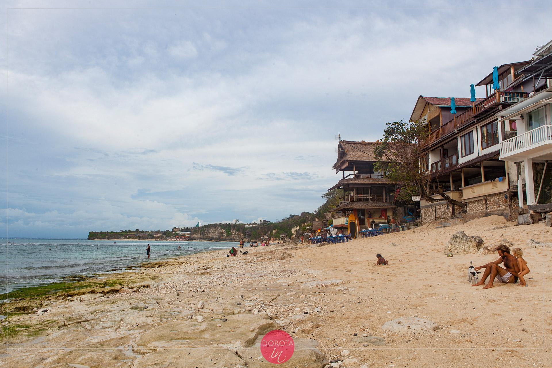 Bingin Beach - widok na Jimbaran