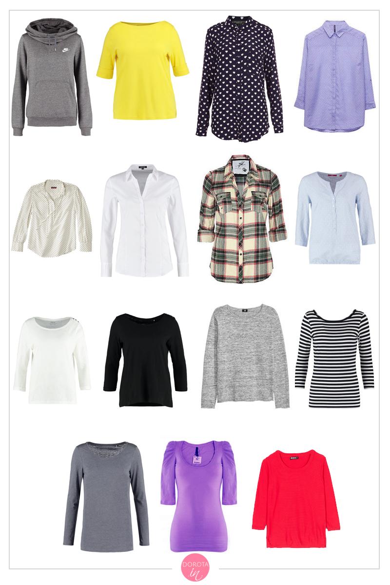 Bluzki, koszule, bluzy, swetry, sweterki na wiosnę