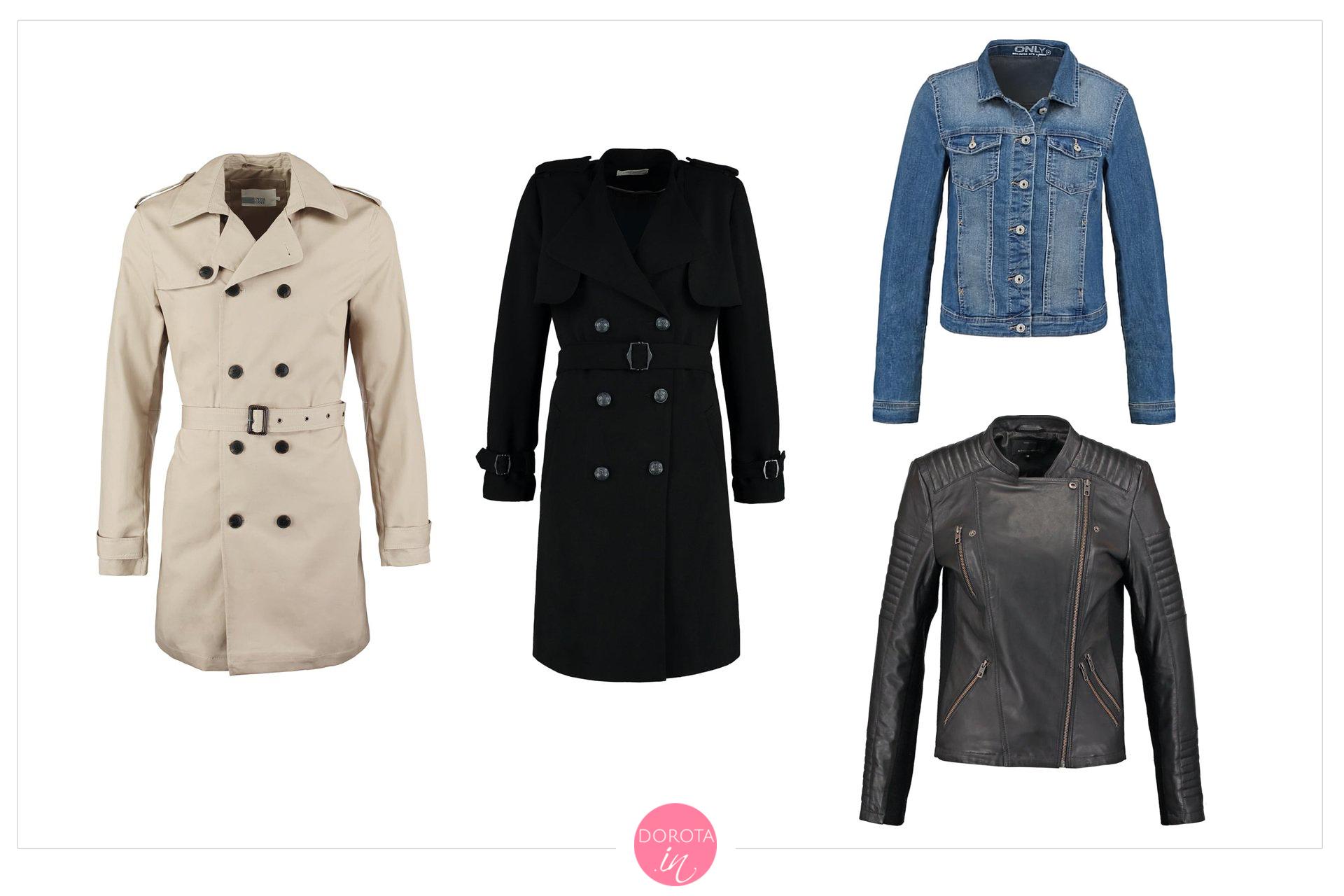 Płaszcze i kurtki na wiosnę