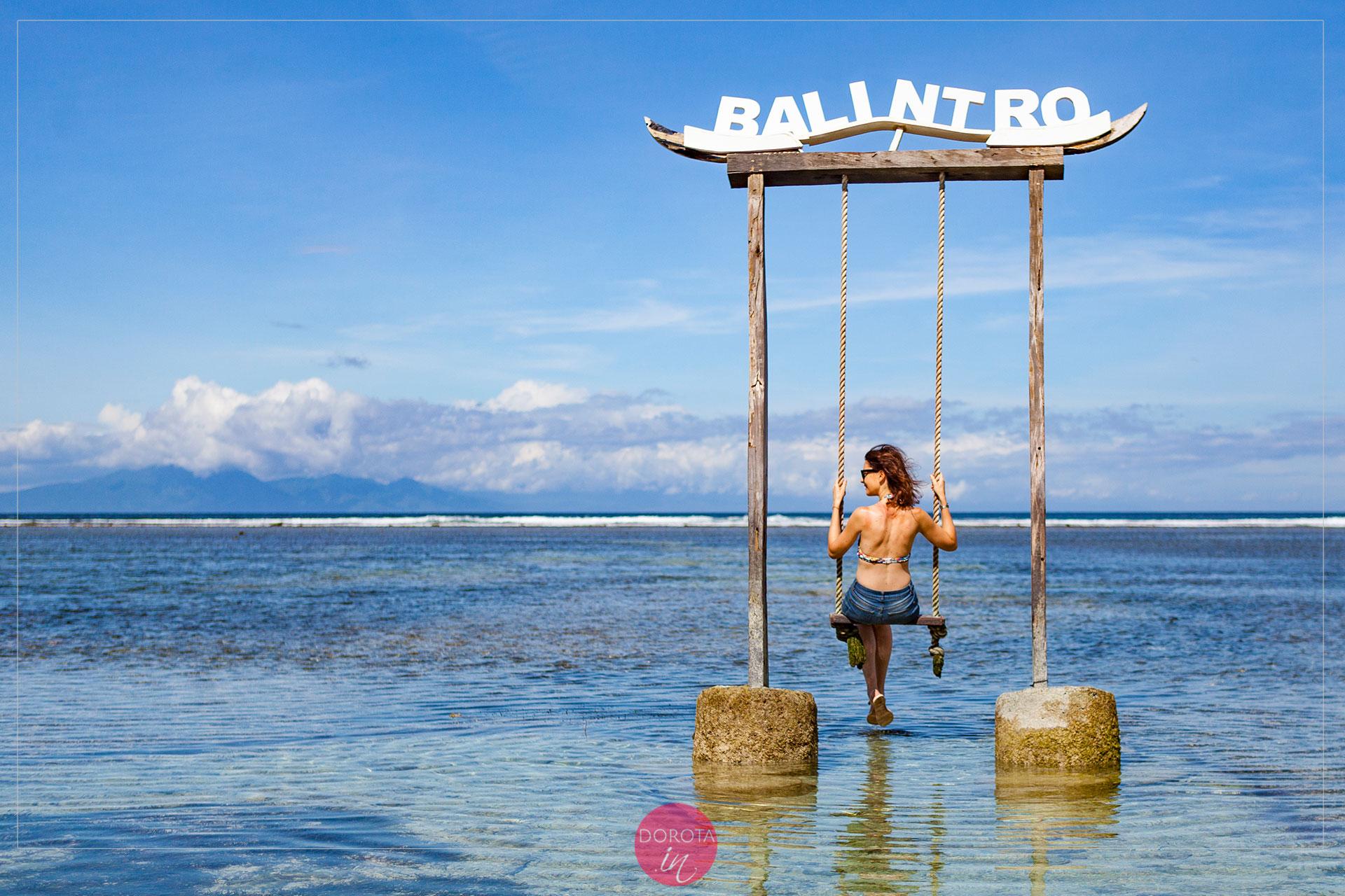 Pierwsza huśtawka wypróbowana - Balintro
