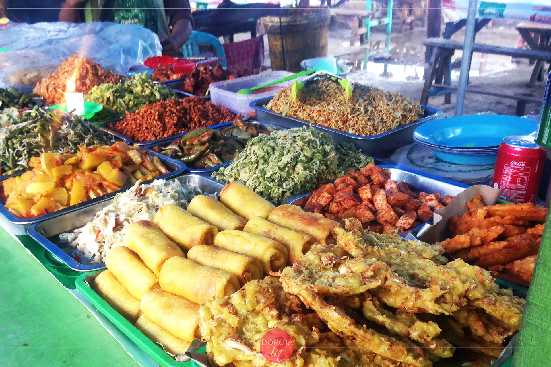Jedzenie na Gili Trawangan - najlepsze na nocnym ryneczku